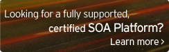 Looking for a fully supported, certified SOA Platform?
